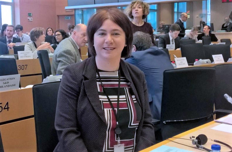 New MEP takes up her Brussels role