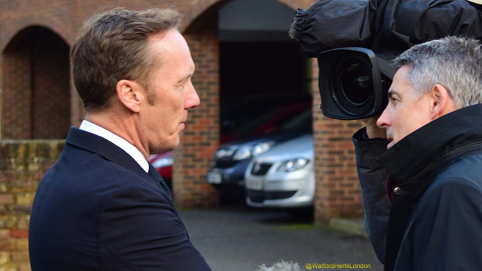 Former England player Lee Dixon
