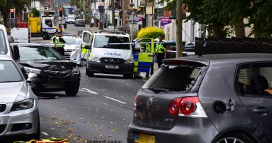 Double Stabbing following Crash incident Today