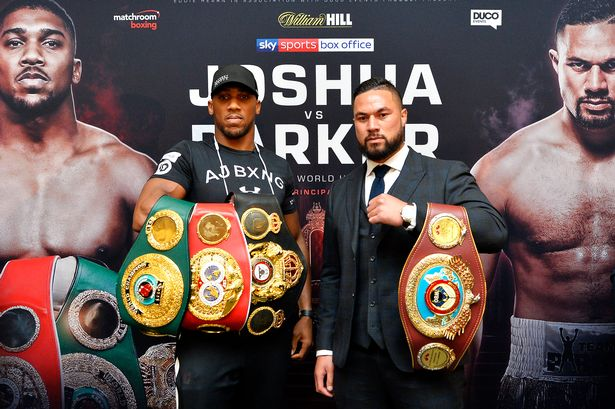 The Anthony Joshua fight can be Watched in local Vue cinemas